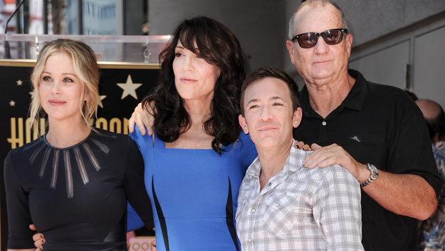 Die 'Bundys': Christina Applegate, Katey Sagal, David Faustino und Ed O'Neill (Bild: Richard Shotwell/Invision/AP)