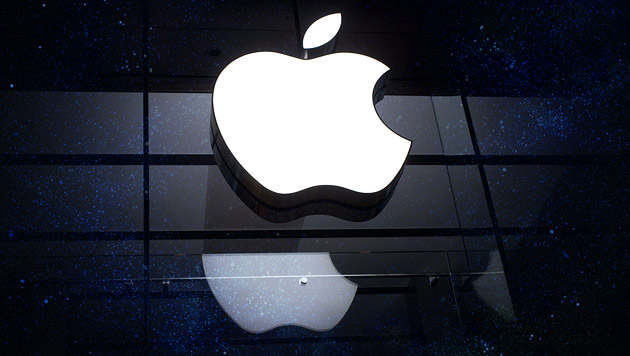 Neues Apple-Betriebssystem iOS 8 wird verteilt (Bild: dpa/Peter Kneffel, thinkstockphotos.de)