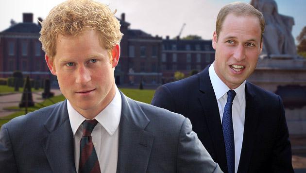 "Prinz Harry will William ""noch mehr leiden"" sehen (Bild: APA/EPA, APA/EPA/STEPHEN LOCK / I-IMAGES)"