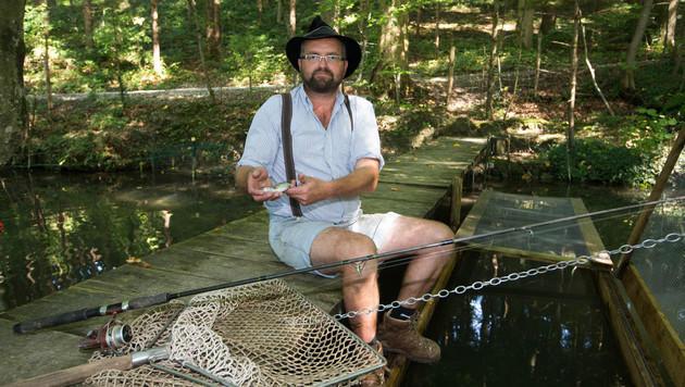 Auch die wertvollen Forellen von Jakob Huber sind spurlos verschwunden. (Bild: Neumayr/MMV)