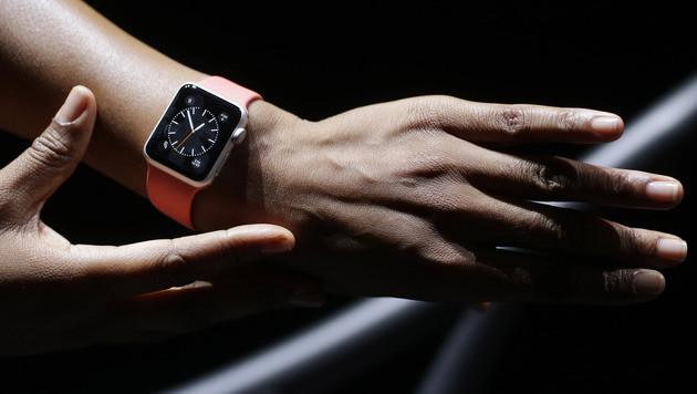 Apple Watch: Der Kampf ums Handgelenk hat begonnen (Bild: AP)