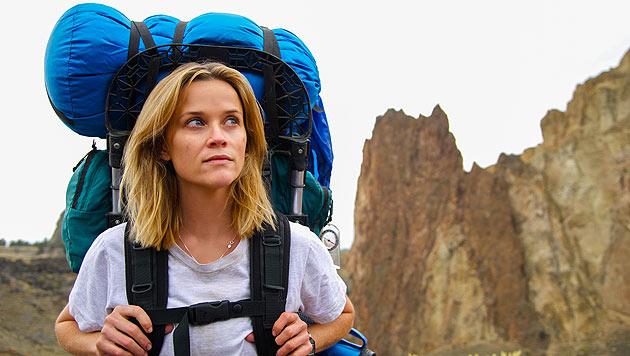 """Reese Witherspoon in einer Szene des Abenteuerfilms """"Wild"""" (Bild: AP)"""