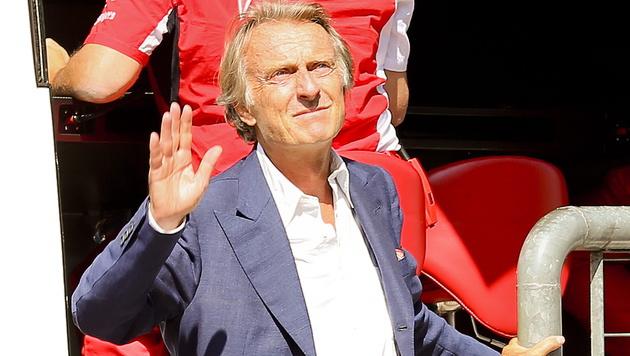 Ferrari-Chef Luca di Montezemolo tritt zurück (Bild: APA/EPA/SRDJAN SUKI)