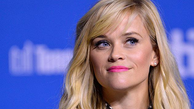 """Reese Witherspoon bei einer Pressekonferenz zu ihrem Film """"Wild"""" (Bild: EPA)"""