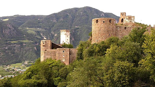 Schloss Sigmundskron (Bild: dpa/ANSA/A1809 epa ansa Matteo Groppo)