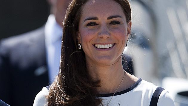 Kate leidet auch in ihrer zweiten Schwangerschaft an starker Übelkeit. (Bild: APA/EPA/WILL OLIVER)