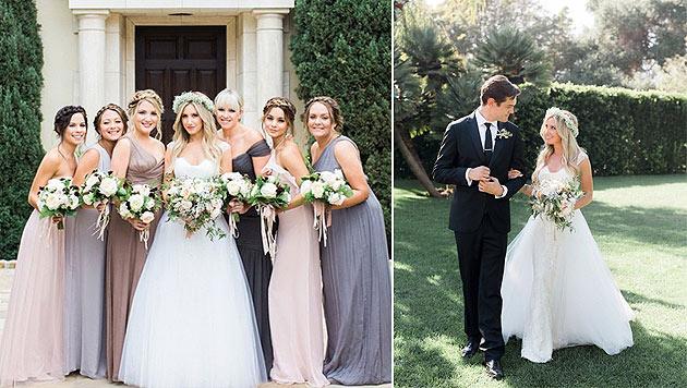 """Ashley Tisdale hat geheiratet und erklärt: """"Bester Tag meines Lebens!"""" (Bild: instagram.com/ashleytisdale)"""