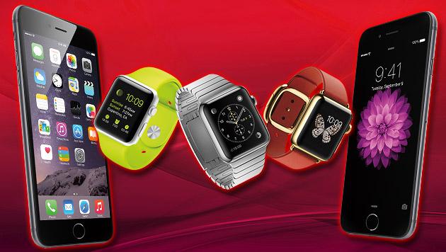 iPhone 6 und Apple Watch: Das sagen erste Tester (Bild: Apple)