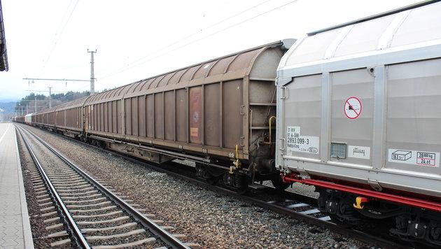 54-Jähriger fuhr sieben Stunden auf Güterzug mit (Bild: Christian Rosenzopf (Symbolbild))