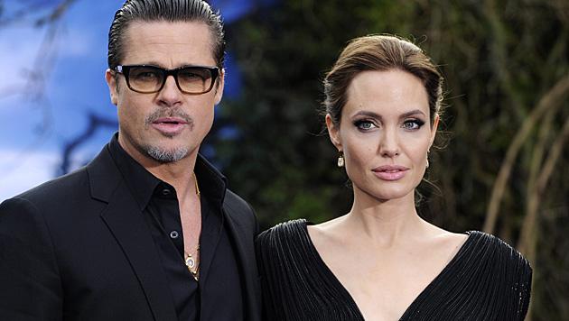 Brad Pitt und Angelina Jolie haben vor der Hochzeit einen Ehevertrag aufgesetzt. (Bild: APA/EPA/FACUNDO ARRIZABALAGA)