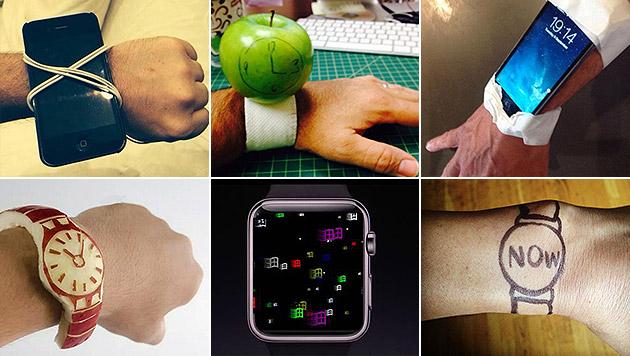 Die witzigsten Reaktionen auf die Apple Watch (Bild: twitter.com)