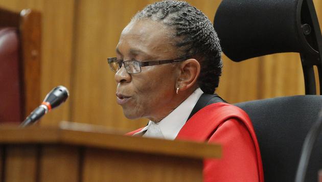 Richterin Thokozile Masipa (Bild: Kim Ludbrook)