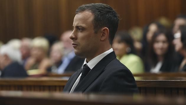 Pistorius auf der Anklagebank (Bild: AP)