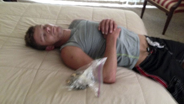 """USA: Einbrecher schläft am Tatort ein - verhaftet (Bild: Sarasota County Sheriff""""s Office)"""