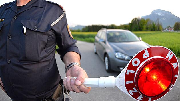 Alkolenker (24) durch Schüsse in Reifen gestoppt (Bild: APA/BARBARA GINDL (Symbolbild))