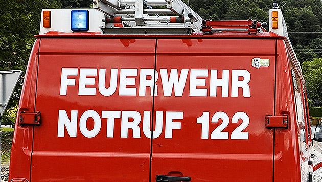 Feuerwehr hievt Arzt mit Hubsteiger zu Patientin (Bild: APA/ANDREAS PESSENLEHNER (Symbolbild))