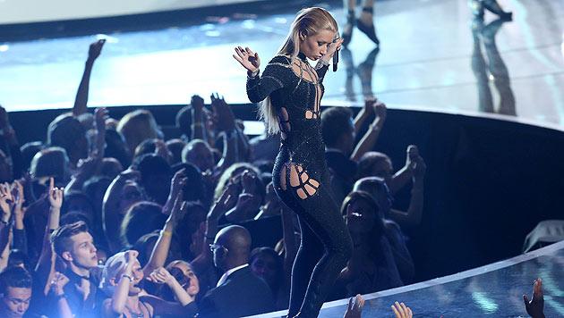 Iggy Azalea bei einem ihrer heißen Bühnenauftritte.
