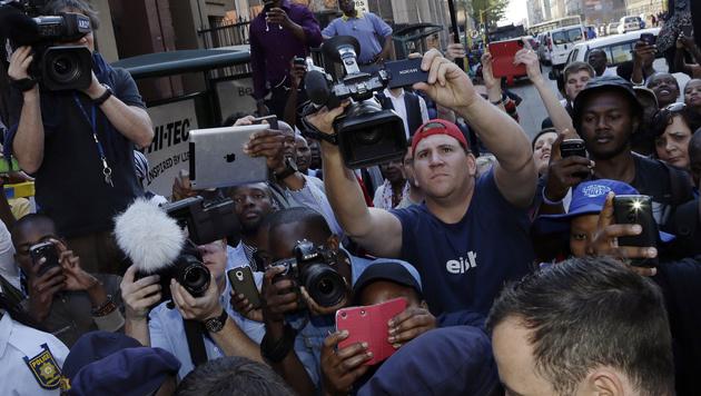 Oscar Pistorius schuldig: Fahrlässige Tötung (Bild: AP)