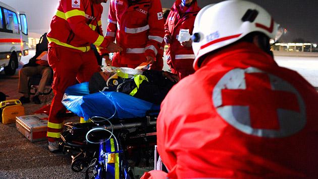 Pkw-Kollision auf A1: 16 Menschen verletzt (Bild: APA/BARBARA GINDL (Symbolbild))