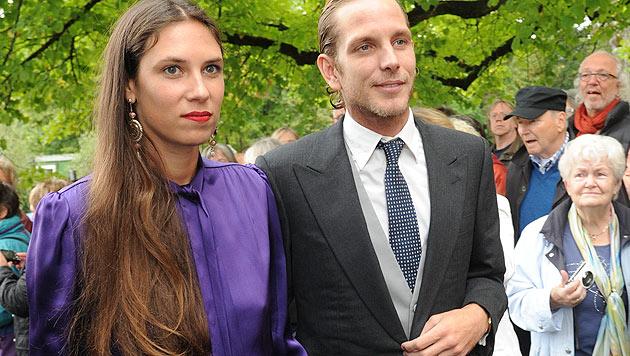 Andrea Casiraghi und seine Frau Tatiana Santo Domingo (Bild: APA/dpa)