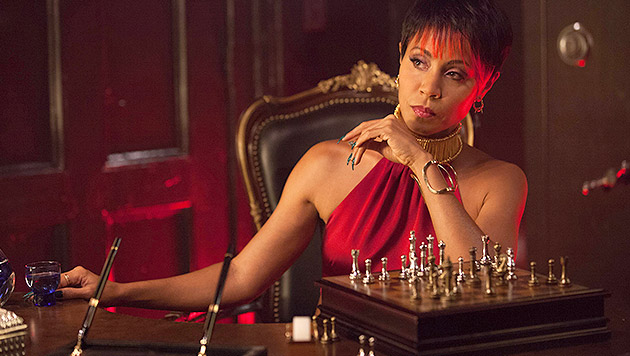 "Jada Pinkett-Smith als Gangsterboss Fish Mooney in ""Gotham"" (Bild: AP)"