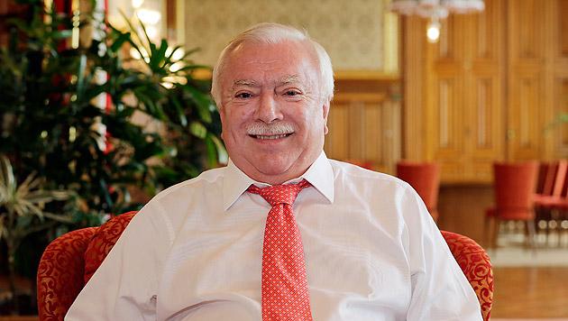 Michael Häupl feiert seinen 65. Geburtstag (Bild: Klemens Groh)
