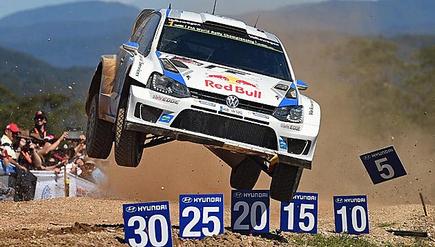 Ogier gewinnt zum 2. Mal Australien-Rallye (Bild: AP)