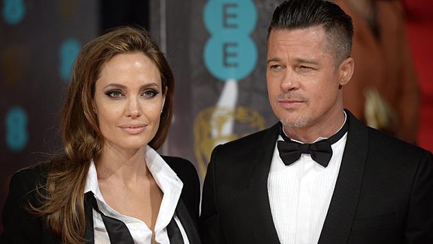 Angelina Jolie und Brad Pitt haben eine Jacht um 313 Millionen Euro gekauft. (Bild: APA/EPA/FACUNDO ARRIZABALAGA)
