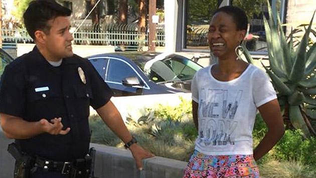 Daniele Watts wurde verhaftet, weil Polizisten sie für eine Hure hielten. (Bild: facebook.com/danielewatts)