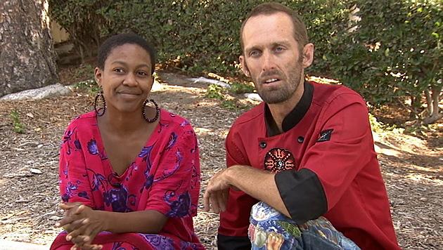 Daniele Watts und ihr Liebster Brian James Lucas im Interview mit dem US-Sender KABC-TV. (Bild: AP)