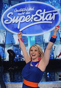 """Beatrice Egli gewann 2013 bei der Fernsehshow """"Deutschland sucht den Superstar"""". (Bild: EPA)"""