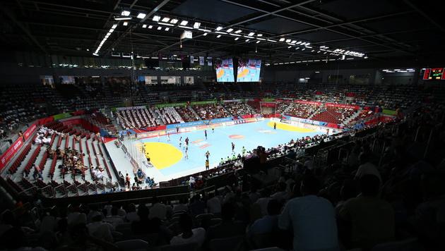 Handball-EM 2020 findet wohl in Österreich statt (Bild: APA/EPA/ALI HAIDER)