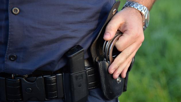 Kriminalbeamter von rabiatem Dealer verletzt (Bild: APA/BARBARA GINDL (Symbolbild))