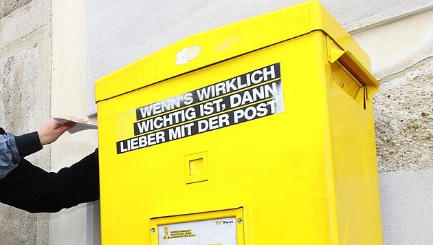 Post erhöht 2015 Porto für Briefe und Pakete (Bild: WIENWOCHE/Drago Palavra)