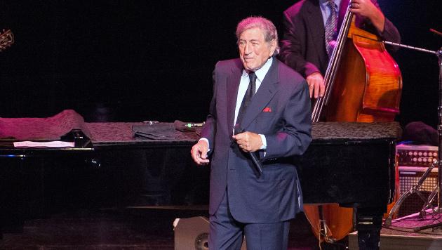 Tony Bennett sang sich zu Standing Ovations (Bild: Andreas Graf)