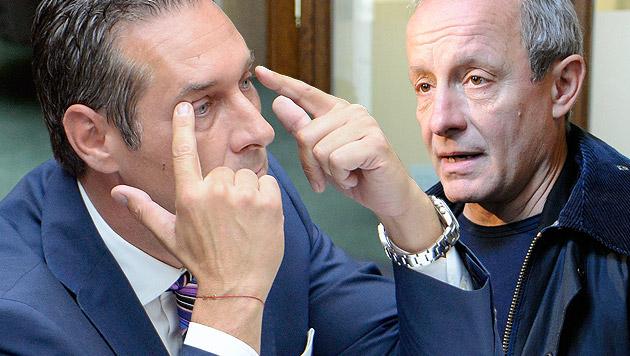 Heinz-Christian Strache (FPÖ), Peter Pilz (Liste Pilz) (Bild: APA/ROBERT JAEGER, APA/HELMUT FOHRINGER)