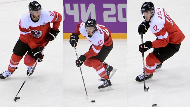 Alle drei NHL-Österreicher für Las Vegas verfügbar (Bild: APA/Helmut Fohringer)