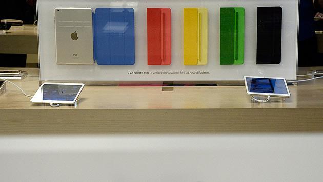 Diese iPads von Apple werden bald von einer neuen Generation abgelöst. (Bild: EPA)