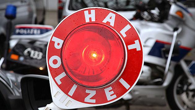 Bursch liefert sich mit Polizei Verfolgungsjagd (Bild: APA/BARBARA GINDL (Symbolbild))