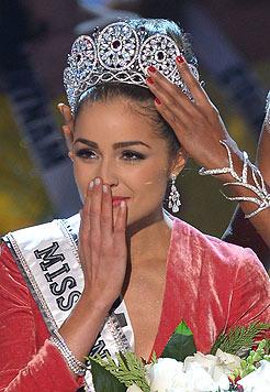 """Olivia Culpo wurde zur """"Miss Universe 2012"""" gewählt. (Bild: AFP)"""