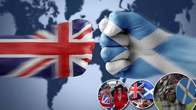 Unabhängigkeit: Zweites Referendum in Schottland? (Bild: thinkstockphotos.de, AP, APA/EPA/ANDY RAIN,)