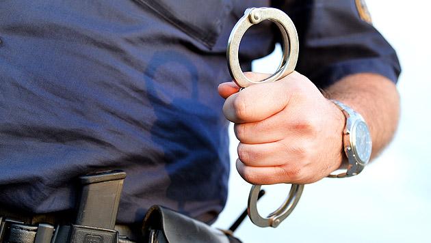 Zeuge stellt Bankräuber auf Flucht Bein (Bild: APA/BARBARA GINDL (Symbolbild))