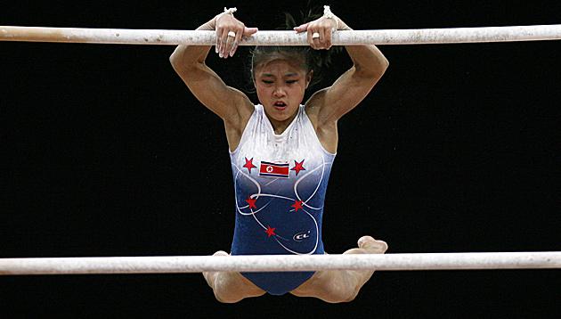 Nordkorea-Turnerin wegen Altersfälschung gesperrt (Bild: AP)
