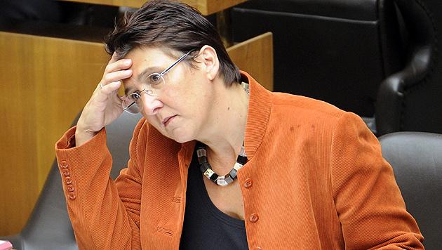 OÖ: Sonja Ablinger tritt als SP-Frauenchefin ab (Bild: APA/ROLAND SCHLAGER)