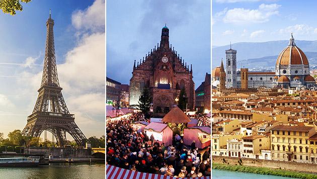 Tipps für besonders romantische Städtereisen (Bild: thinkstockphotos.de)
