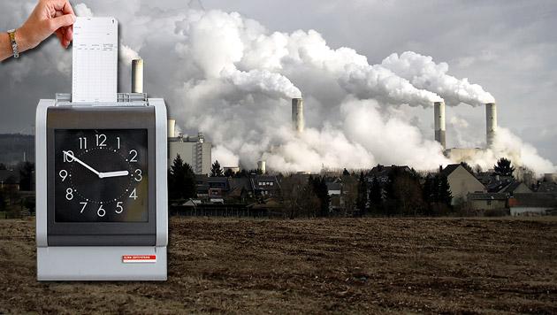 30-Stunden-Woche soll Klimawandel stoppen (Bild: thinkstockphotos.de, dpa/Peter Endig)