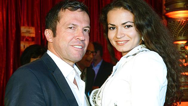 Lothar Matthäus will Anastasia Klimko heiraten. (Bild: APA/dpa/Marcus Brandt)