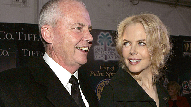 Nicole Kidman und ihr Vater Anthony (Bild: AP)