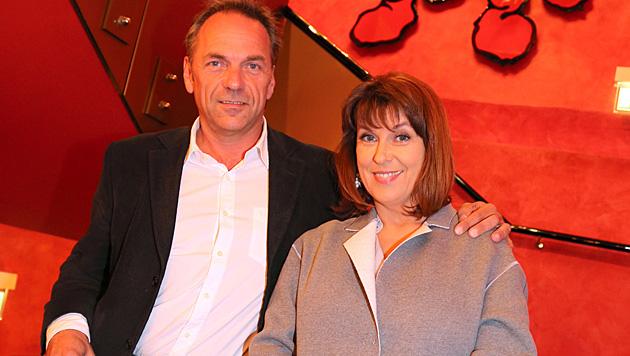 Martina Rupp mit ihrem neuen Freund Peter Jäger. (Bild: Kristian Bissuti)