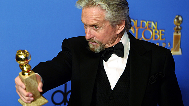 "Für ""Liberace"" bekam Michael Douglas einen Golden Globe. (Bild: APA/EPA/PAUL BUCK)"